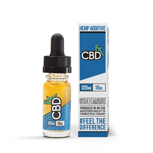 CBDfx 120mg 10ml CBD Oil Vape Additive