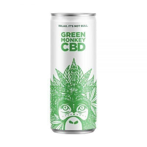 Green Monkey CBD Carbonated Drink