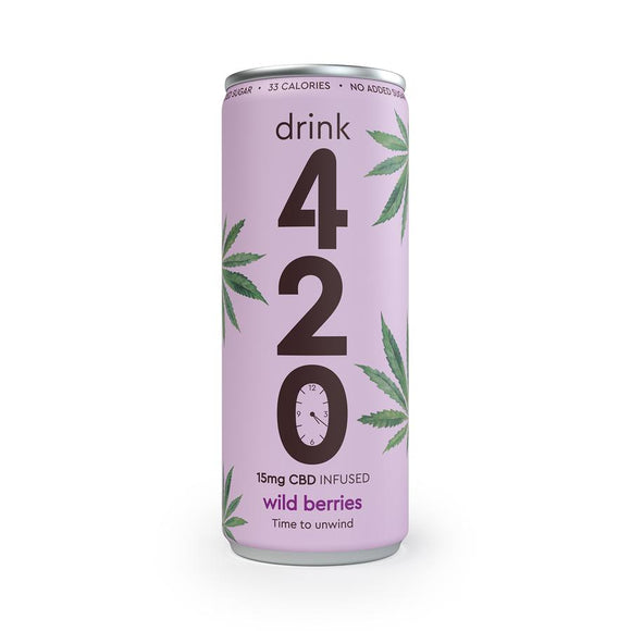 Drink420 Wild Berries CBD Drink