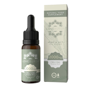 Loveburgh MCT CBD Oil 750mg - 2000mg