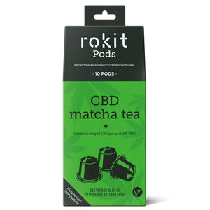 Rokit Pods - CBD Matcha Tea 5mg