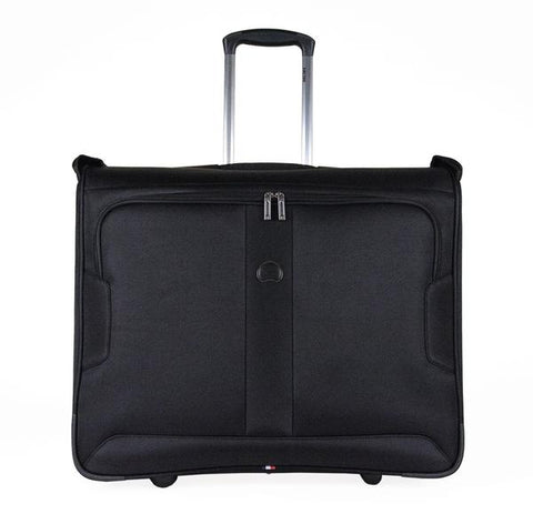 "Delsey Volume Max 42"" Trolly Garment Bag - BLACK ONLY"