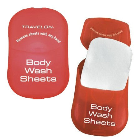 BODY WASH SHEETS - SET OF 2
