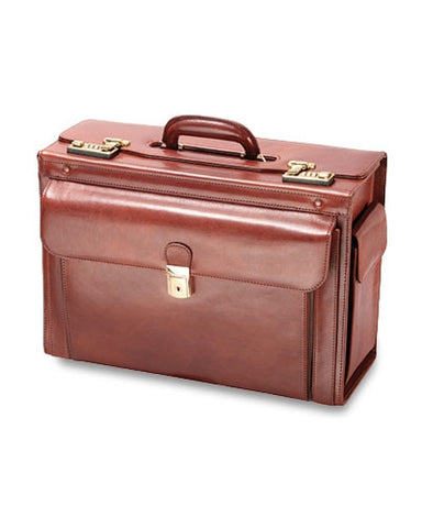 Luxurious Italian Leather Catalog Case
