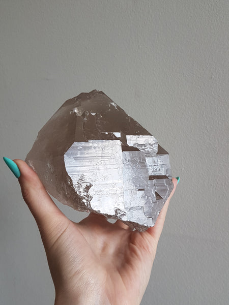 Elestial Smokey Quartz