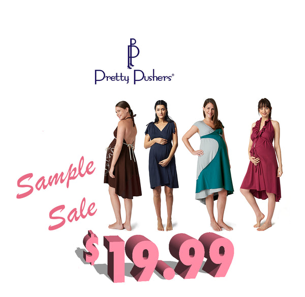 Maternity sample sale