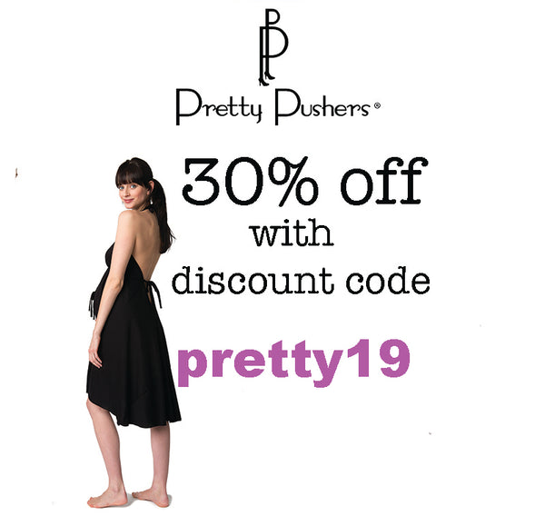 Black Friday discount code at Pretty Pushers