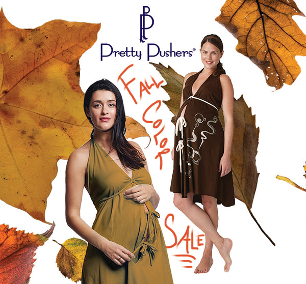 Pretty Pushers Fall maternity sale