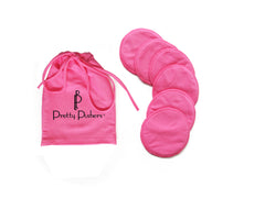 Pink washable nursing pads