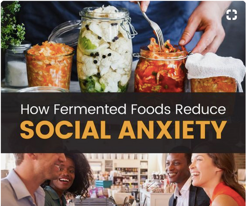 Fight anxiety and postpartum depression with fermented foods