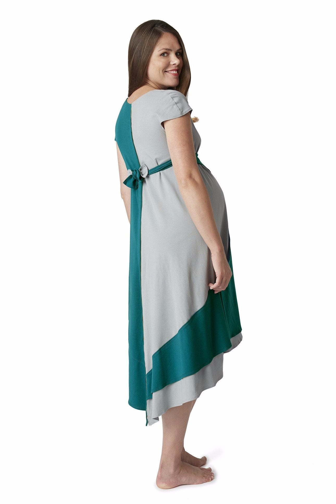 Pretty Pushers Transition Gown for maternity, labor, and nursing