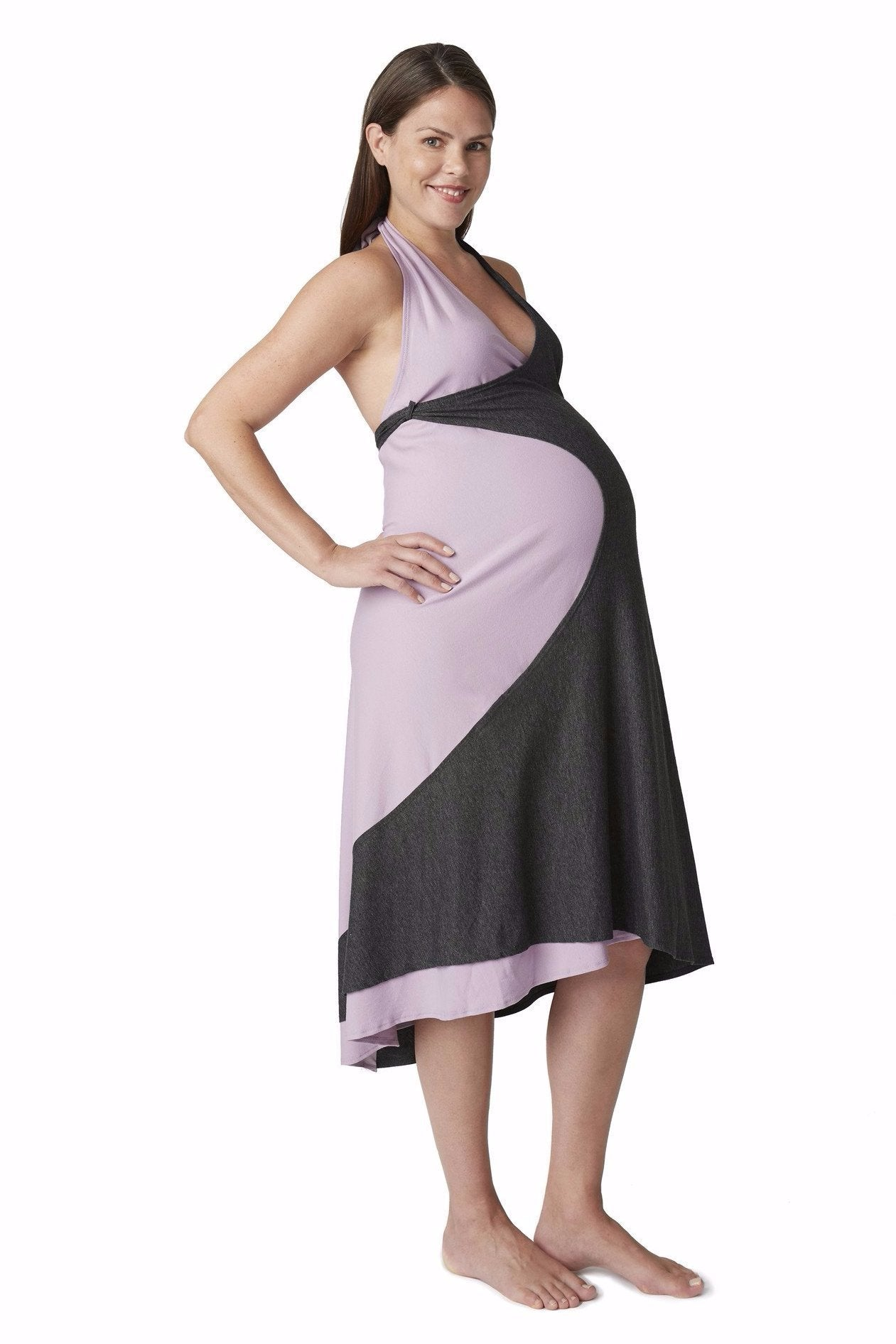 Maternity birth and nursing in one dress by pretty pushers a single dress for maternity birth and breastfeeding ombrellifo Image collections