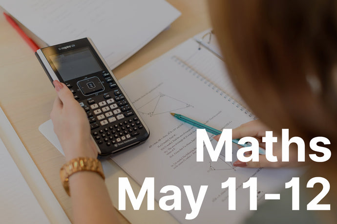 Study Weekend: Maths - May 11 & 12