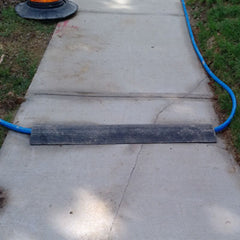 Low Profile Rubber Pipe Ramp 10 Foot Section