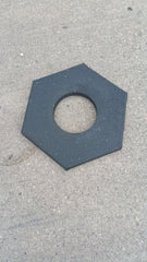 Full Pallet Black Rubber 16 lb Base