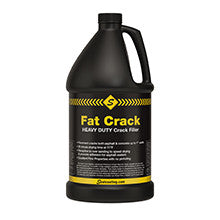 Fat Crack Heavy Duty Crack Filler-Crackfillers Cold Applied-Sealcoating TX Whse-Case of Qty 6 - One Gallon Containers-Sealcoating.com