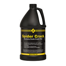 Spider Crack Economy Grade Crack Sealer-Crack & Joint Sealing-Sealcoating TX Whse-Case of Qty 6 - 1 Gallon Containers-Sealcoating.com