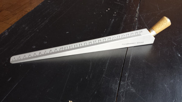 Aluminum Measuring Wedge Measuring Dips In Floor Or