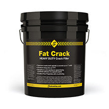 Fat Crack Heavy Duty Crack Filler-Crackfillers Cold Applied-Sealcoating TX Whse-5 Gallon Container-Sealcoating.com