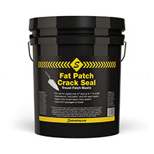 5 Gallon Fat Patch Trowelable Mastic - Crack & Joint Sealing