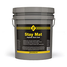 Stay Mat Asphalt Tack Coat-Cleaners & Primers-Sealcoating TX Whse-Sealcoating.com
