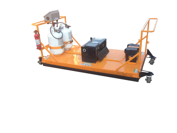 3.5ft x 6.5ft Infrared Asphalt Heater Recycler