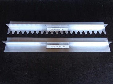 "Serrated Magnesium Asphalt Blade-Asphalt Paving Tools-Surfa Slick-36"" Blade-Sealcoating.com"