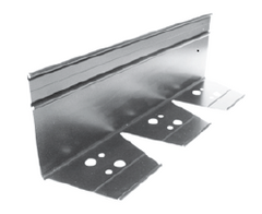 "Permaloc 3"" x 3"" Sidewall Aluminum Edge-Asphalt Paving Tools-Permaloc-Silver Finish-Sealcoating.com"