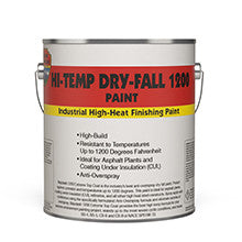 HiTemp Dry Fall 1200 Paint-Paint & Coatings-Highland International, LLC-1 Gal-Black-Sealcoating.com