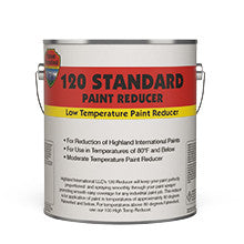 Moderate Temp 120 Paint Reducer-Paint & Coatings-Highland International, LLC-1 Gal-Sealcoating.com