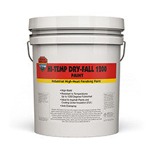 HiTemp Dry Fall 1200 Paint-Paint & Coatings-Highland International, LLC-3 Gal-Black-Sealcoating.com