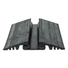Rubber Roadway Pipe and Hose Ramp 3 Piece Kit