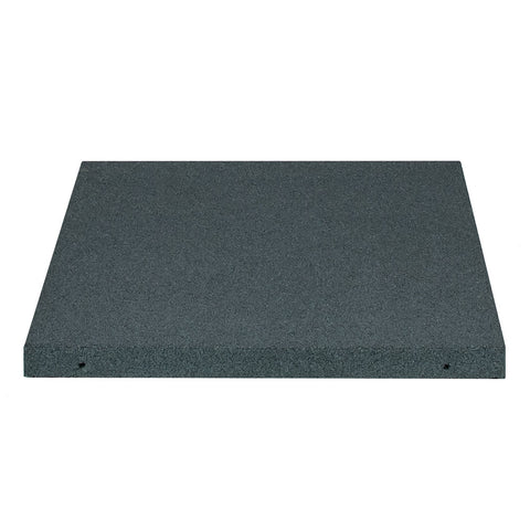 Square Rubber Roof Paver with Drainage
