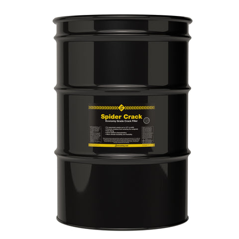 Spider Crack Economy Crack Sealer - 55 Gal Drum