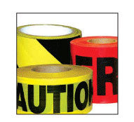 Barricade Safety Tape Heavy Duty 3 mil-Traffic Control-CH Hanson-Caution No Parking-Sealcoating.com