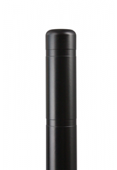 "Bollard Cover - 4"" x 72"" - Color Choices-Bollard Covers-Innoplast-Black-Sealcoating.com"
