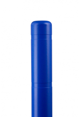 "Bollard Cover - 4"" x 72"" - Color Choices-Bollard Covers-Innoplast-Blue-Sealcoating.com"