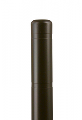 "Bollard Cover - 4"" x 72"" - Color Choices-Bollard Covers-Innoplast-Brown-Sealcoating.com"