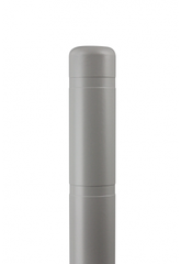 "Bollard Cover - 4"" x 72"" - Color Choices-Bollard Covers-Innoplast-Light Gray-Sealcoating.com"