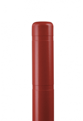 "Bollard Cover - 4"" x 72"" - Color Choices-Bollard Covers-Innoplast-Red-Sealcoating.com"