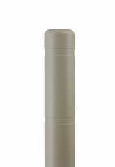 "Bollard Cover - 4"" x 72"" - Color Choices-Bollard Covers-Innoplast-Tan-Sealcoating.com"