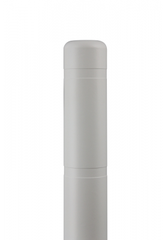 "Bollard Cover - 4"" x 72"" - Color Choices-Bollard Covers-Innoplast-White-Sealcoating.com"
