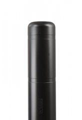 "Bollard Cover - 7"" x 52"" - Color Choices-Bollard Covers-Innoplast-Black-Sealcoating.com"