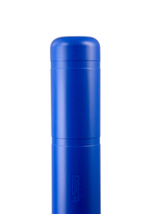 "Bollard Cover - 7"" x 52"" - Color Choices-Bollard Covers-Innoplast-Blue-Sealcoating.com"