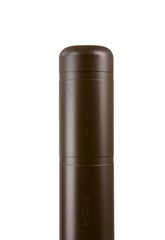 "Bollard Cover - 7"" x 60"" - Color Choices-Bollard Covers-Innoplast-Brown-Sealcoating.com"