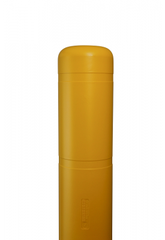 "Bollard Cover - 7"" x 60"" - Color Choices-Bollard Covers-Innoplast-Federal Yellow-Sealcoating.com"