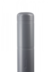 "Bollard Cover - 7"" x 60"" - Color Choices-Bollard Covers-Innoplast-Gray-Sealcoating.com"