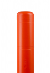 "Bollard Cover - 7"" x 52"" - Color Choices-Bollard Covers-Innoplast-Orange-Sealcoating.com"