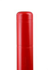 "Bollard Cover - 7"" x 52"" - Color Choices-Bollard Covers-Innoplast-Red-Sealcoating.com"