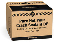 Pure Hot Pour™ Hot Rubber Crack Sealer Direct Fire